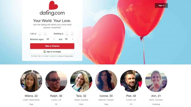 Dating.com adult dating and sex